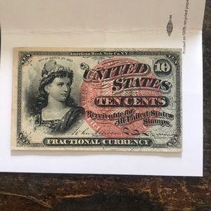 *RARE* Ten Cent Note